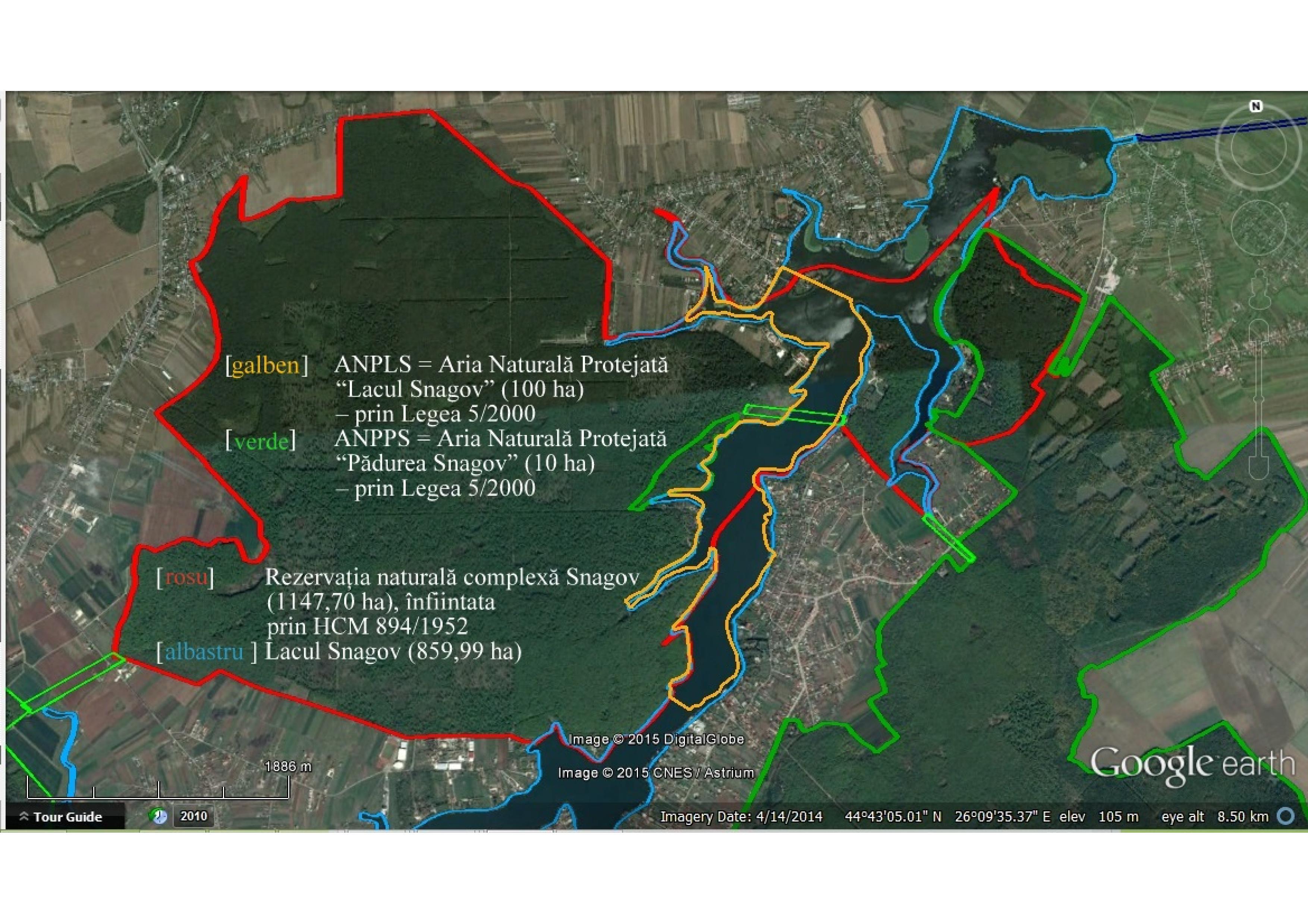 Extindere Arie Naturală Protejată La Snagov La 2080 Ha