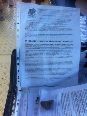 Promovare - distribuire materiale de info - constientizare pe debarcadere